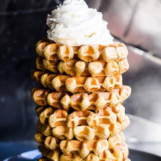 Oatmeal Protein Waffles.