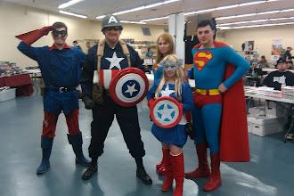 Photo: Fandom Fest costumed heroes