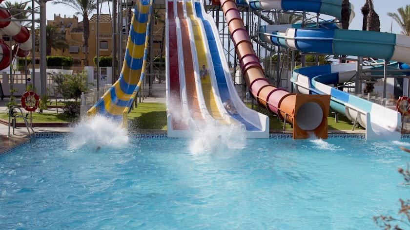 Playasol Aquapark Spa Hotel, con su espectacular parque acuático.