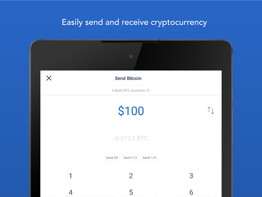 Coinbase u2013 Buy and sell bitcoin. Crypto Wallet for Android apk 9