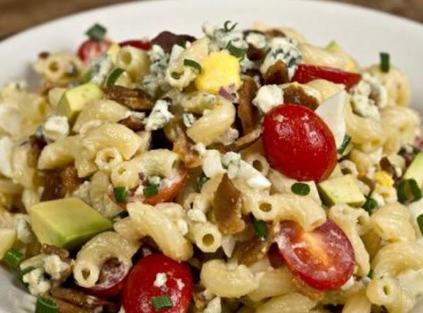 Cobb Pasta Salad With Red Wine Vinaigrette Recipe
