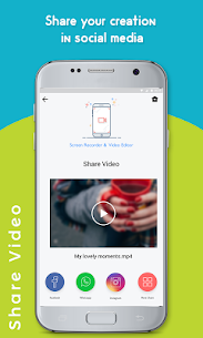 Screen Recorder & Video Editor :- No Root Apk  Download For Android 6