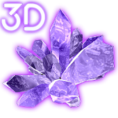 Velvet Crystals 3D Live Wallpaper