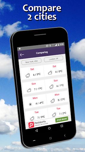 Weather Forecast free screenshot 4