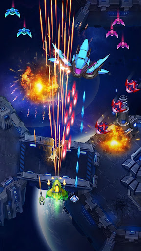 WindWings: Space Shooter - Galaxy Attack  captures d'écran 1
