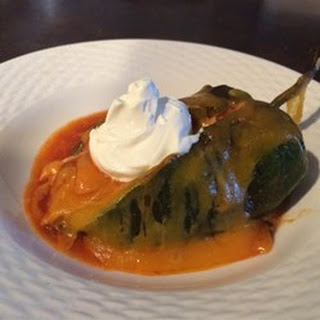 Chicken Stuffed Chiles
