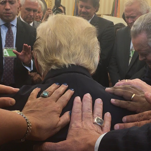 Evangelical pastor warns of plot against Trump