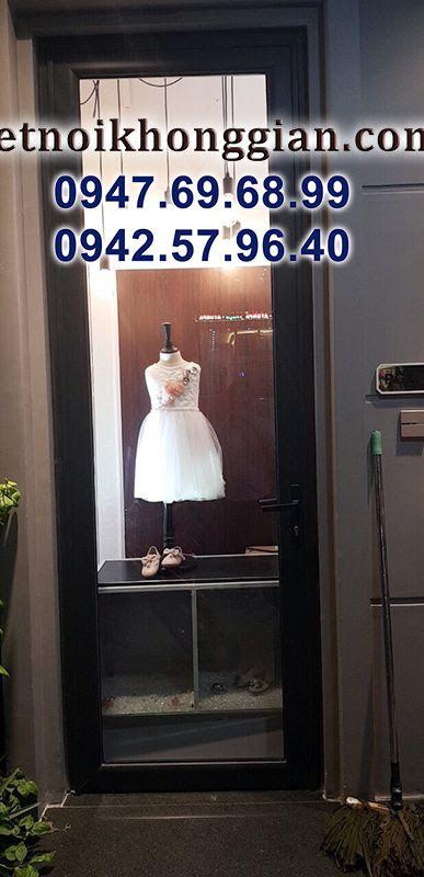 thi công shop thời trang trẻ em đẹp mắt