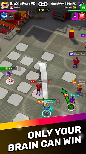 football tactics arena: turn-based soccer strategy screenshot 2