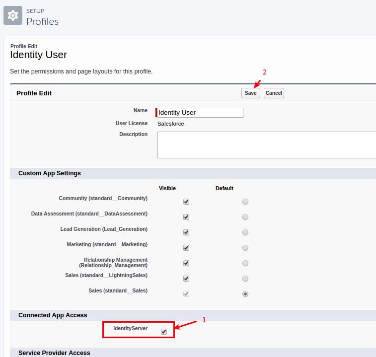 Salesforce User Flow: SECURITY INTERNAL . COM: Using Salesforce As An Identity