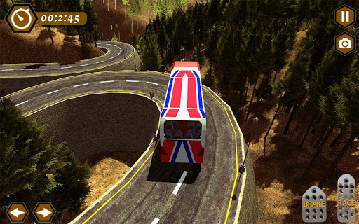 Heavy Mountain Bus simulator 2018 1.5 screenshots 3