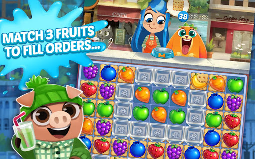 Juice Jam - Puzzle Game & Free Match 3 Games screenshot 1