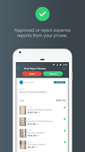 Expensify - Expense Reports - náhled