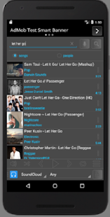 Explore Music Player - náhled