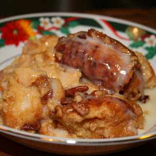 Glazed Doughnut Bread Pudding