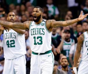 De gigantische Senegalees Tacko Fall maakt indruk bij de Celtics in de Summer League