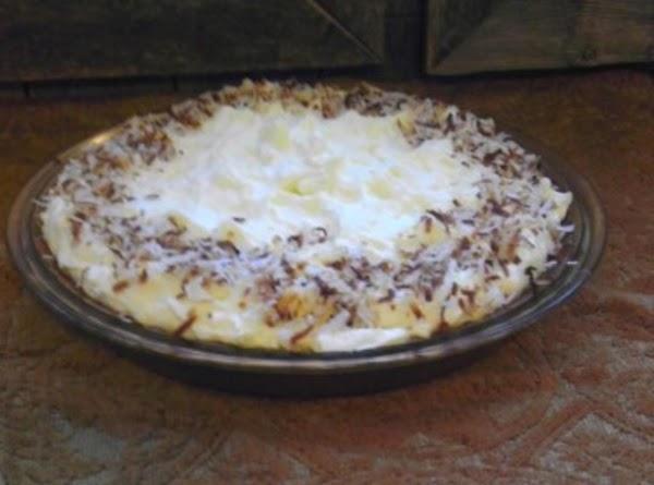Jules Whipped Coconut Cream Pie Recipe