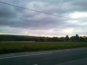 Photo: Last rays of meteorological summer sun (Dortmund Deusen)