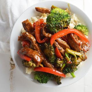 Spicy Beef Broccoli.
