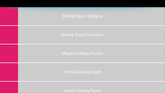 Dining Room Decor screenshot