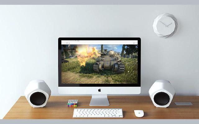 Full HD World of Tanks New Tab