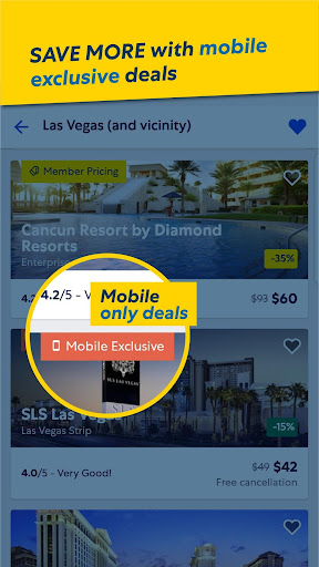 Expedia Hotels screenshot 2