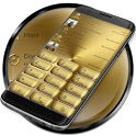 Dialer Solid Gold Theme icon