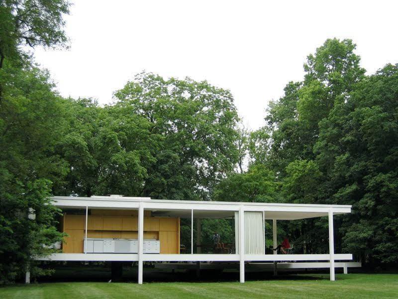Casa Farnsworth - Mies van der Rohe