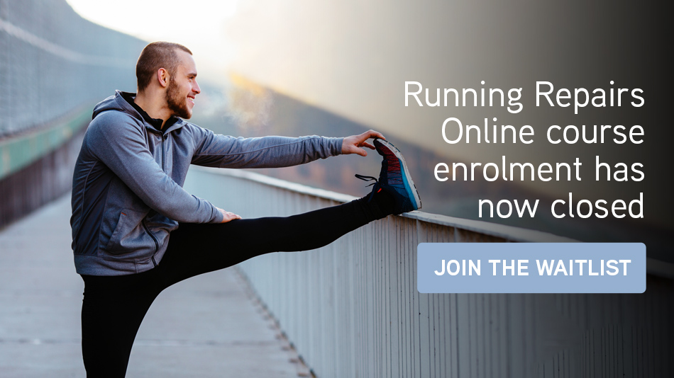 Click here to join the Running Repairs Online course waitlist