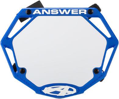 Answer BMX 3D Mini Number Plate alternate image 2