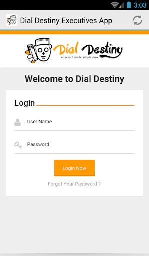 Dail Destiny Executive App
