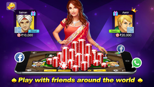 Teen Patti Flush: 3 Patti Poker 1.3.1 screenshots 6