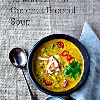 Thai Coconut-Broccoli Soup.