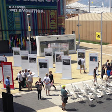 Photo: #Veloform Media supported the #Berlin Week at #EXPO2015 in Milan with a #bboxx SYSTEM that hosted a multimedia exhibition