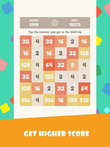 Tap 2048 - worldwide poplar game apkdebit screenshots 8