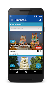 Highway Cabs-Book Cab in India- screenshot thumbnail