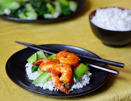 Shrimp Stir Fry with Baby Bok Choy Recipe   Yummly