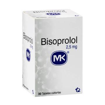 Bisoprolol MK 2.5mg Caja