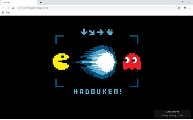 Pac-Man New Tab & Wallpapers Collection