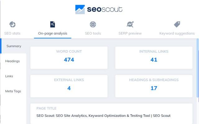 SEO Tool Extension: Meta + SEO Checker
