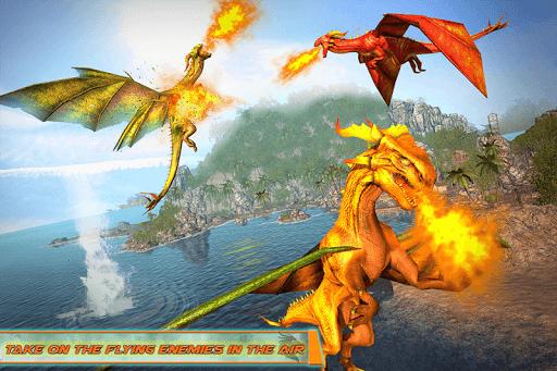 Flying Dragon Robot Car - Robot Transforming Games 2.5 screenshots 4
