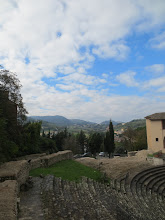 Photo: The View from Spoleto by the historical museum