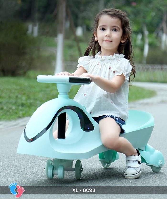 Xe lắc tay trẻ em Broller XL8098 10