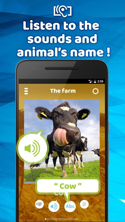 Animal Sounds & Pictures Free- screenshot