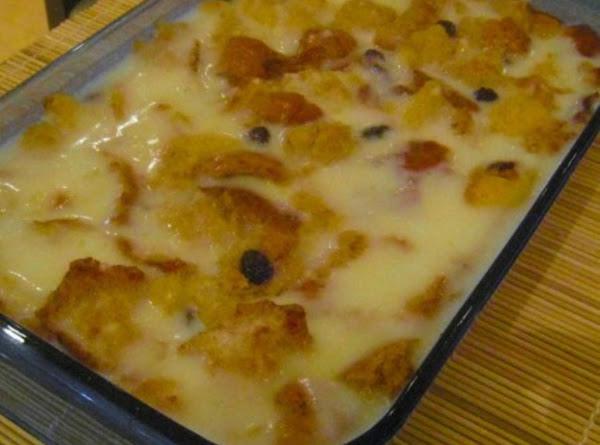 Homestyle Bread Pudding Recipe