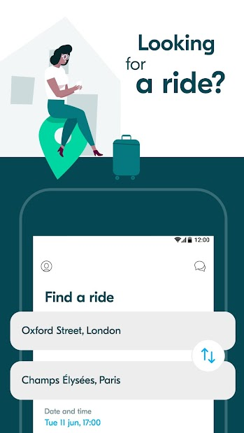 BlaBlaCar: Carpooling and BlaBlaBus Android App Screenshot