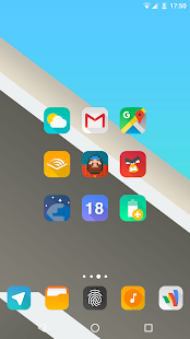 Aurora UI Square - Icon Pack - náhled