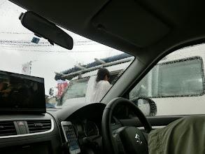 Photo: 雨です