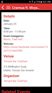 Dublin Event Guide- screenshot thumbnail