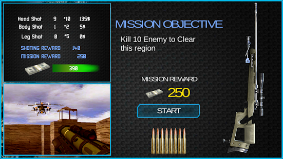 Death Clash War Zone Mission screenshot